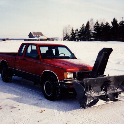 Truck Mounted snowblower